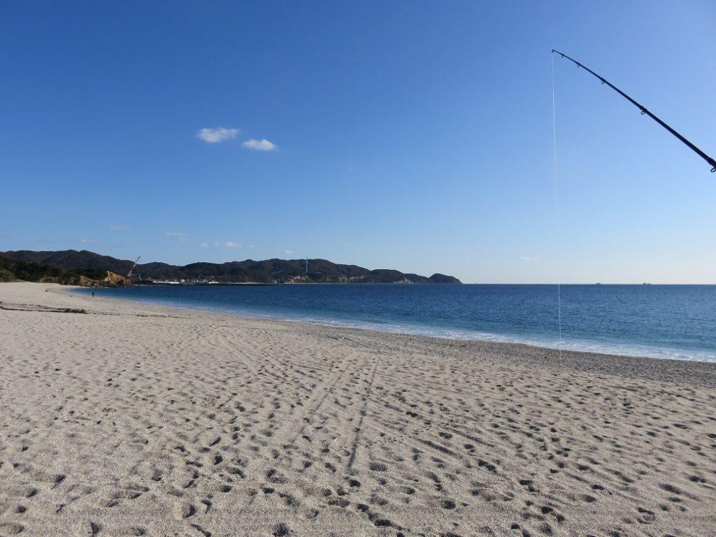吹上浜の東側