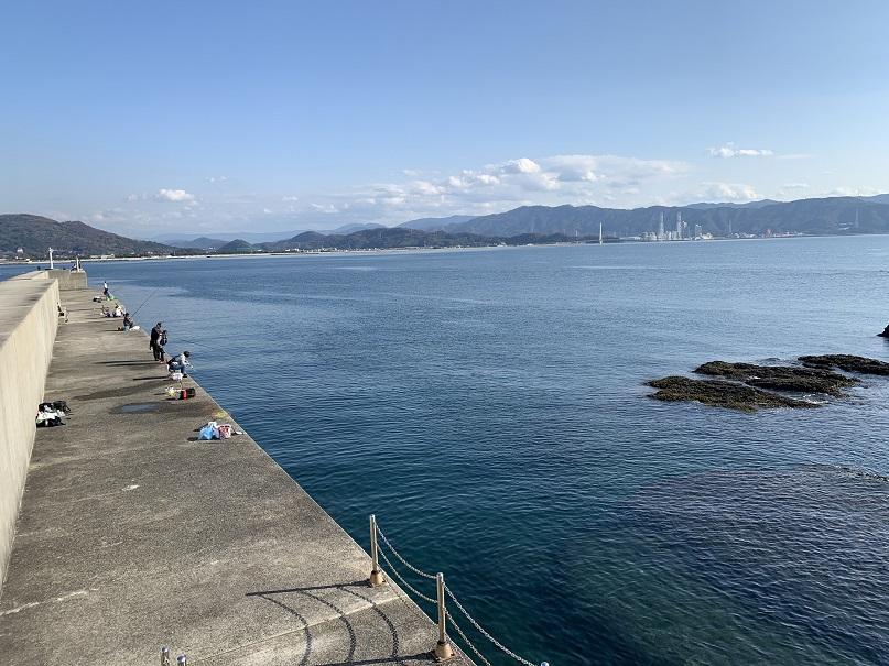 田ノ浦漁港堤防